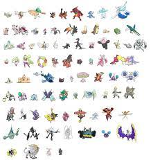 Pokemon Sun and Moon Pokemon List (Page 1) - Line.17QQ.com
