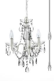 curtain fancy mini crystal chandeliers for bathroom 11 the original gypsy color light plug in chandelier