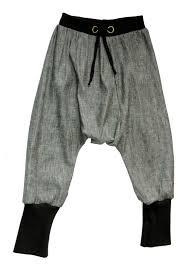 Mc Hammer Pants Silver Minou Kids Mc Hammer Pants Pants