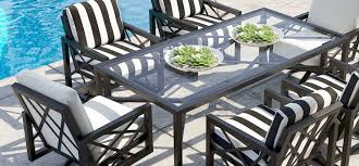 barclay butera palm springs cushion dining collection