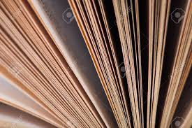 old book binding and page close up photo stock photo 91583533