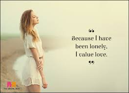 Lonely Quotes Impressive 48 Lonely Love Quotes For When Your Heart Is Alone