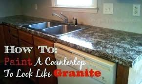 painting laminate countertops to look how to paint laminate refinish laminate countertops to look like granite