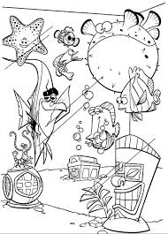 Finding Nemo Coloring Pages Rises Meilleures Beautiful Finding Nemo