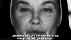 Ahs Quotes Stunning Scary Quote Black And White AHS Creepy Horror Morbid Evil Demon