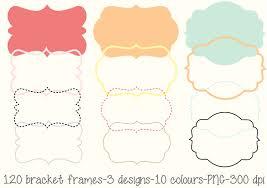 printable bracket frame. 🔎zoom Printable Bracket Frame F