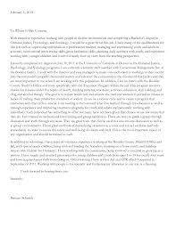 Sample Cover Letter For Criminal Justice Internship Cover Letter