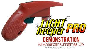 Does Light Keeper Pro Work On Led Lights Light Keeper Pro Mini Christmas Light Tester Demo