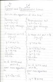agreeable writing equations of parallel and perpendicular lines worksheet kuta 17 best images about linear on