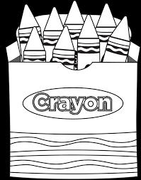 46 luxury crayon box coloring page