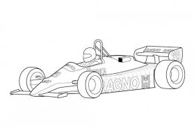 Small Picture Arrows A4 F1 Classic Race Car Coloring Page Free Online Cars