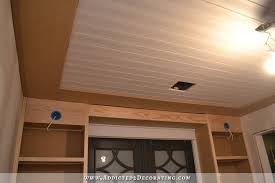 wood planked ceiling 9