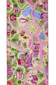traffic sweet town street map kids rugs