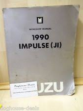 isuzu impulse 90 isuzu impulse ji dealership repair shop dealer garage manual 1990 ship