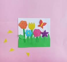 flower garden craft for kids
