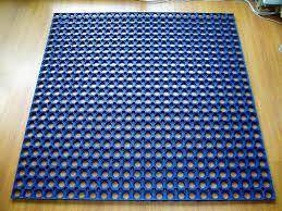 rubber bath mat last in washing machine