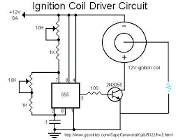 high voltage ignition coil supply 7 steps step 3 the driver circuit scematic