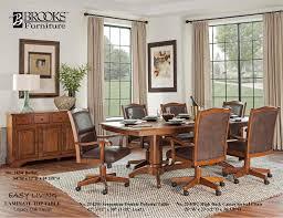 brooks caster chair