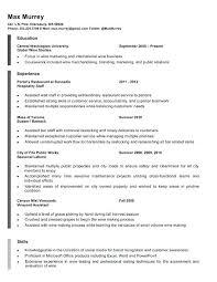 Barback Resume Unique Barback Resume Sample Resume Sample Bar Manager Sample Job