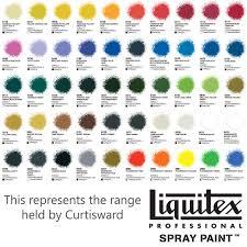 Humbrol Spray Paint Colour Chart Liquitex Professional Acrylic Spray Paint 400ml Colour Chart