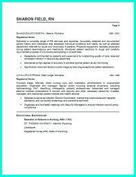 Critical Care Nursing Resumel Resume Template Critical Nurse