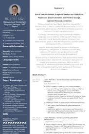 Client Partner / Senior Business Development Manager Resume samples