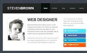 Wordpress Resume Template Best Web Design Templates Unique Resume