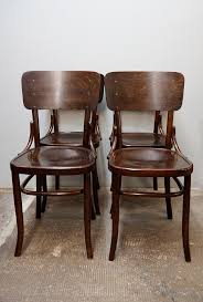 fantastic bentwood dining chair and bohemian bentwood dining chairs from fischel 1910s set of 4 for