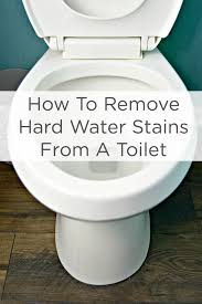 Best Bathroom Cleaning Products Beauteous How To Remove Hard Water Stains From A Toilet Mom 48 Real