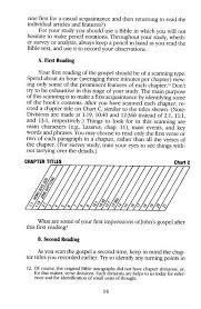 Jensen Bible Study Charts John A Self Study Guide
