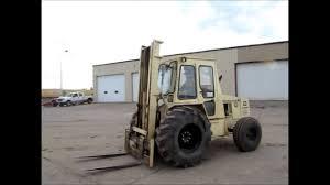 Ingersol Rand Forklift Ingersoll Rand Rt 708 Rough Terrain Forklift For Sale Sold At