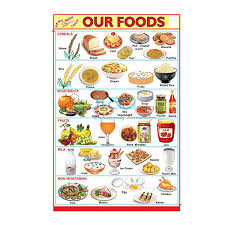 Our Food Chart India Our Food Chart Manufacturer Our Food