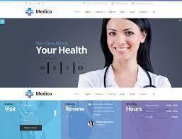 68 Best Health Medical Website Templates Free Premium