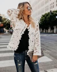 <b>Originality</b> Knit Tassel Jacket   DREAM CLOSET in <b>2019</b>   <b>Fashion</b> ...