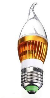 universal 3w 6w 9w sharp flame led chandelier candle light bulb lamp b22 warm white