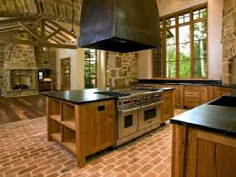 Brick Kitchen Floors Red Brick Flooring Kitchen All About Flooring Designs