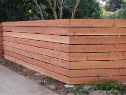 Horizontal Privacy Fence Style Fence Ideas Tips Installing