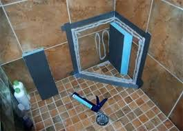 goof proof showers goof proof shower kit elegant ready to tile shower seat backer board ready goof proof showers goof proof shower pan installation