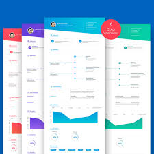 Resume Cv Template Psd | Graphiceat