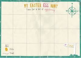 easter egg hunt template easter crafts farming and rural life