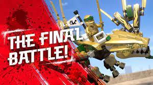 The Golden Dragon – The Final Battle: Lloyd the Golden Ninja vs. Overlord - LEGO  NINJAGO - 70666 - YouTube