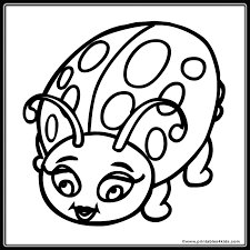 Lady Bug Coloring Sheet Ladybug Coloring Page Clipart Panda Free Clipart Images