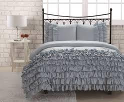 twin miley mini ruffle comforter set blue  college  pinterest