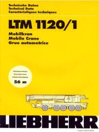Liebherr Crane Load Chart Liebherr Ltm 1120 1 Specifications Cranemarket
