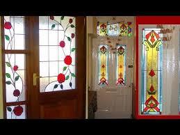 beautiful glass painting doors painted