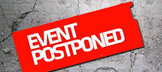 Image result for postponed free images