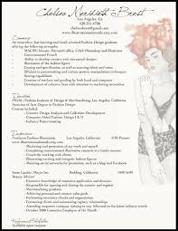 Fashion Resume Templates Classy Fashion Resume Templates Fabulous Fashion Resume Format Sample
