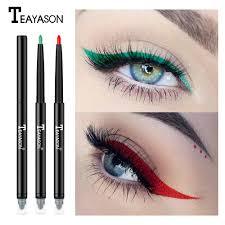 makeup eyeliner pen brown purple white black eye liner waterproof eyeliner pencil brand eyes make up estic tools maa elf cosmetics from grega