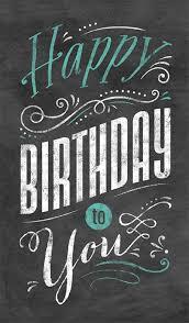 Happy Birthday Business Card Chalkboard Birthday Business Birthday Card Happy Birthday