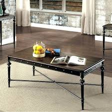 industrial style coffee table matte dark gray diy